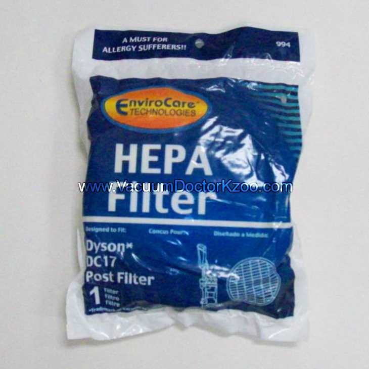 Dyson Filter DC17 HEPA - Aftermarket