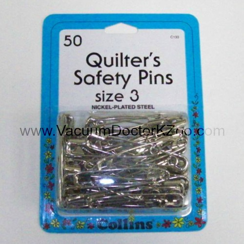 Collins Safety Pins Size 3 50pck