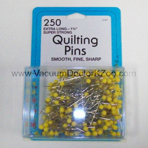 "Colllins Quilting Pins 1-3/4"" 250pck"