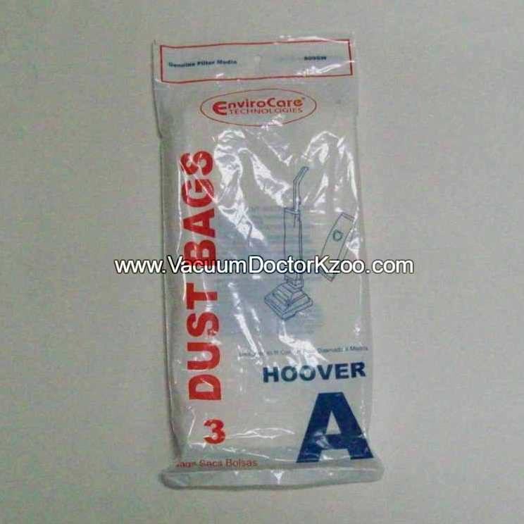 Hoover Bag Type A Micro Filtration - Generic - 3 pck