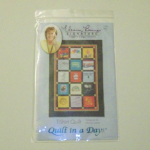 QUILT IN A DAY T-SHIRT QUILT