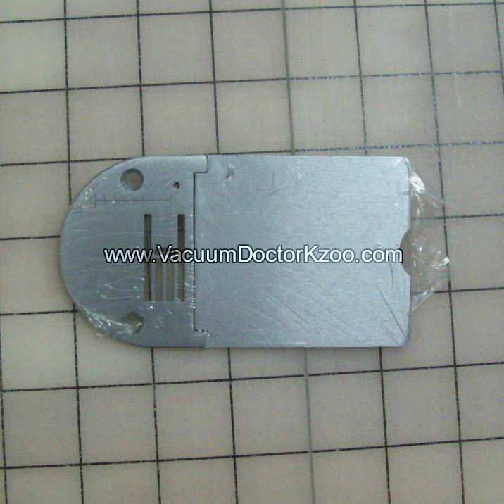 NEEDLE PLATE WITH SLIDE PLATE
