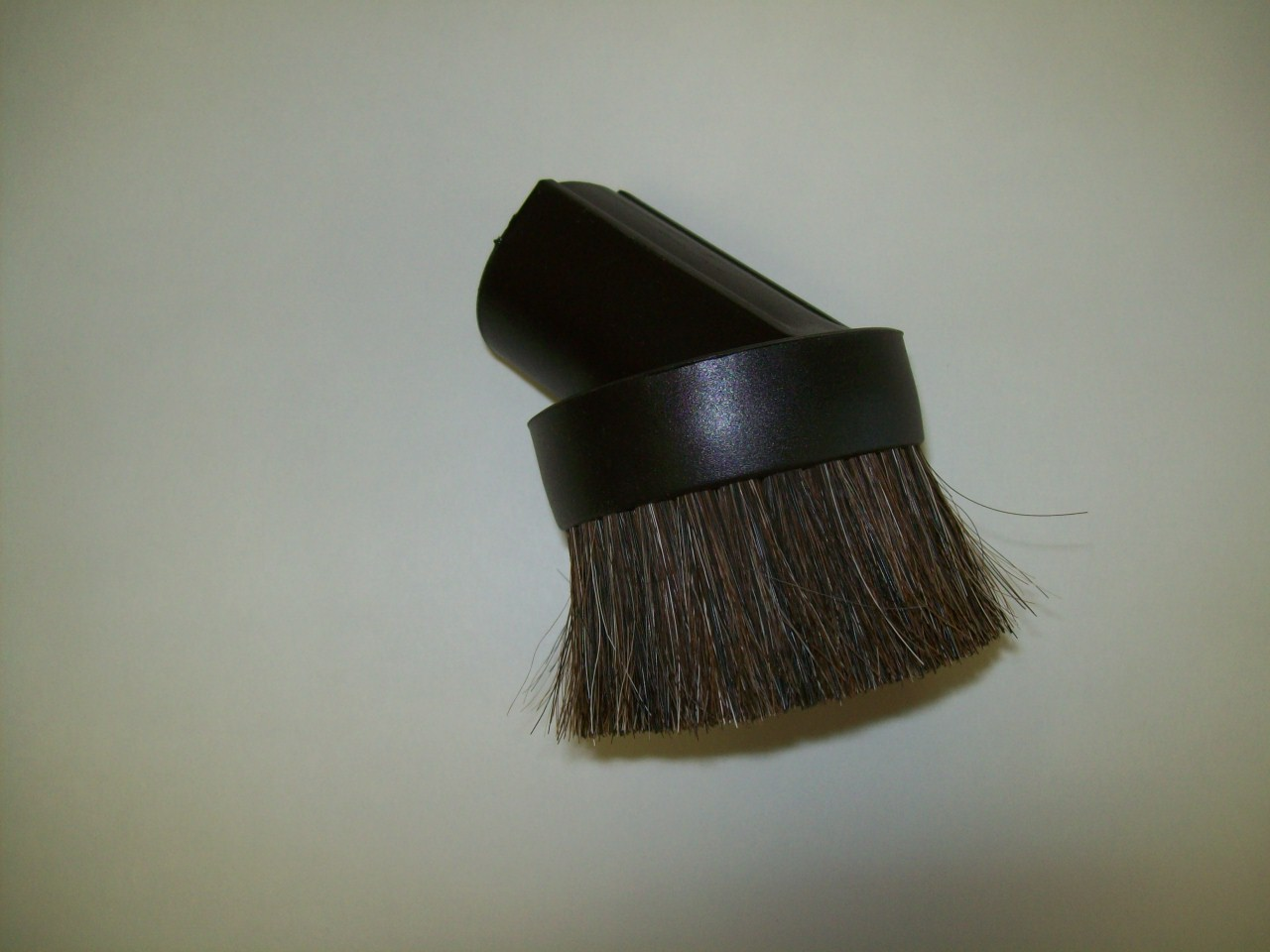 Dusting Brush, Heavy Horse Hair Bristles Black 1.25 in