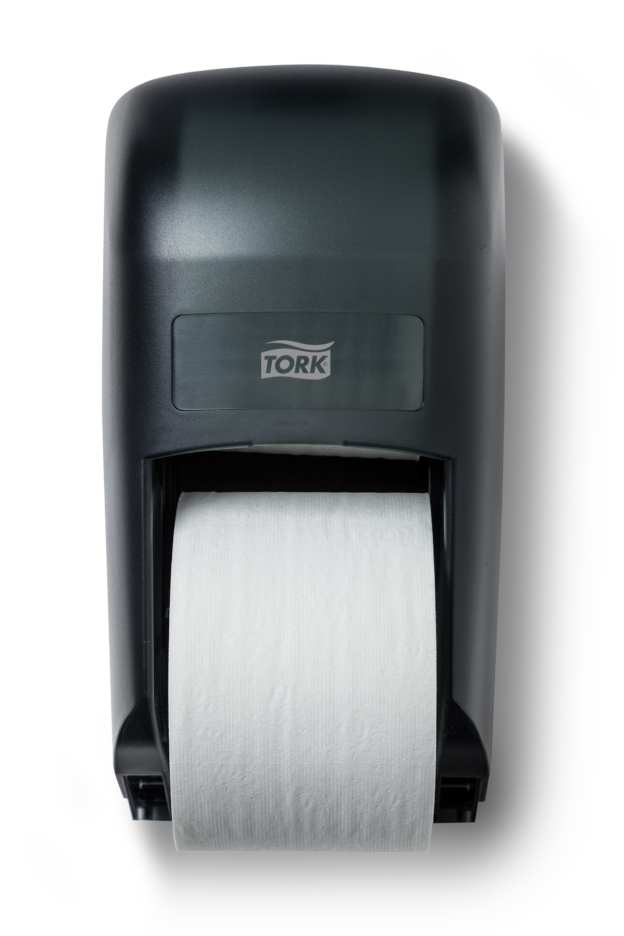 Tork� Twin Bath Tissue Roll Dispenser for OptiCore�