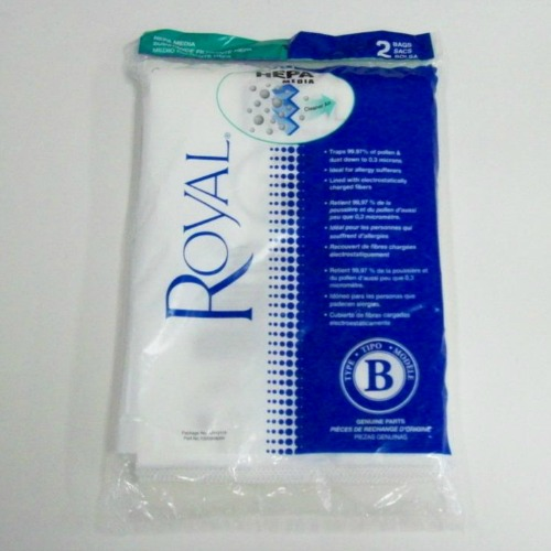 Royal Bag Type B HEPA Type 2 Pck