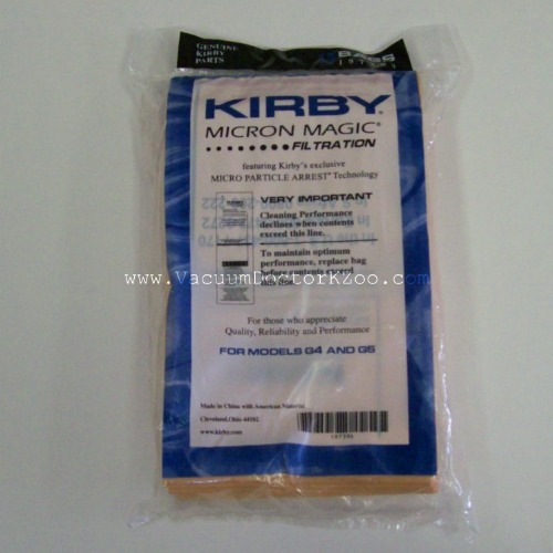 Kirby Bag G4 & G5 - Micron Magic - 9 pck
